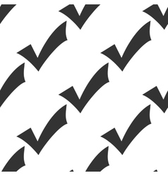 Check mark icon pattern vector image