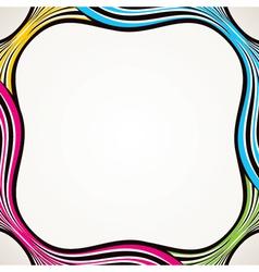 creative strip border design vector image