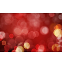 Dark red blurry light dot background vector