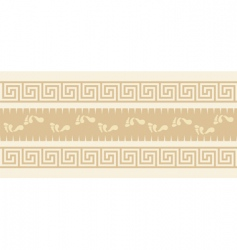 graphic border design vector image