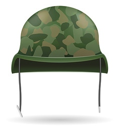 military helmets 04 vector image