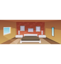 Modern Bedroom vector image