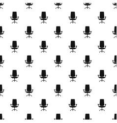 New armchair pattern seamless vector