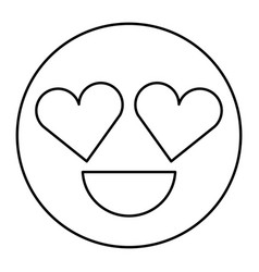 Smiling Face with Heart Shaped Eyes Vector Images (over 470)