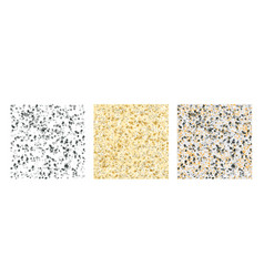 spotted texture pattern set vector image