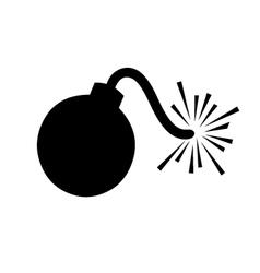 Cartoon Bomb vector image