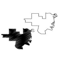 Al khor state qatar municipalities qatar vector