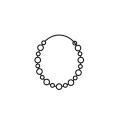 bracelet icon vector image