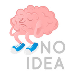 Brain without idea vector