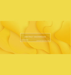 bright yellow gradient layered background with vector image