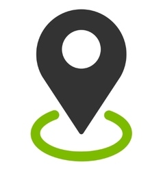Geo Targeting icon from Business Bicolor Set vector