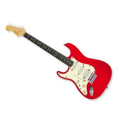 Left handed guitar vector