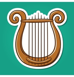 Lire musical instrument vector