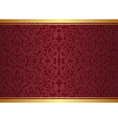 maroon vector image