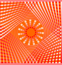Orange abstract background tile with overlapping vector