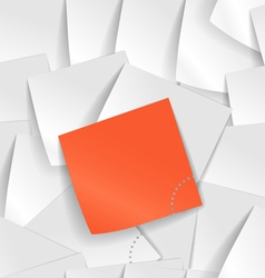 Note Wall vector image