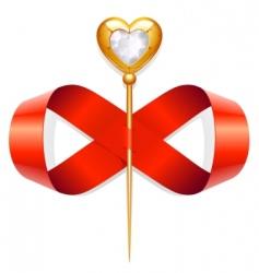 infinite love vector image vector image