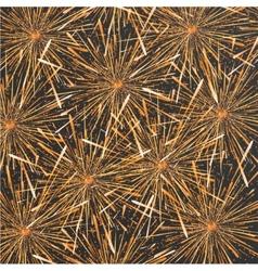 modern fireworks background design vector image vector image