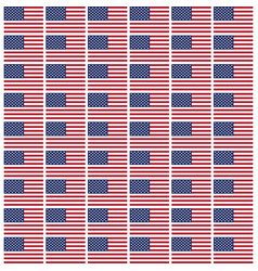Usa star flag pattern background vector
