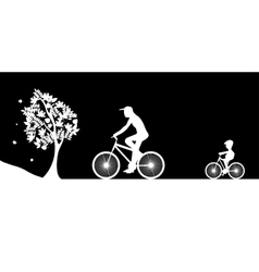 Bikers and the tree vector