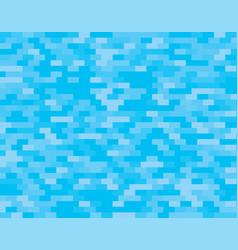 blue random brikcs mosaic or tiles background vector image