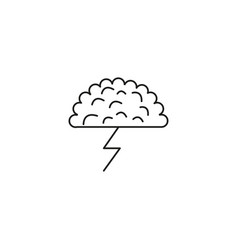 brainstorm icon vector image