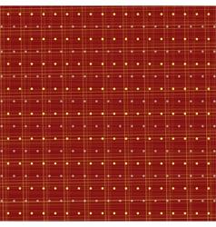 Fabric polka dots vector image