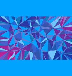 fire ice triangle abstract background christmas vector image