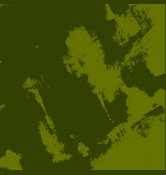 green grunge background vector image
