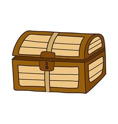 Icon chest vector