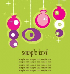 retro ornaments vector image