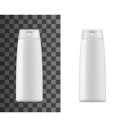 shampoo bottle mockup isolated container vector image