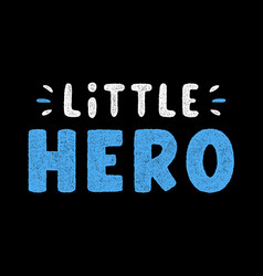 vintage blue lettering vector image