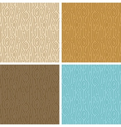 wooden seamless patterns vector image