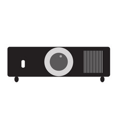 projector icon on white background projector vector image vector image