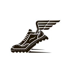 sport shoe icon vector image vector image