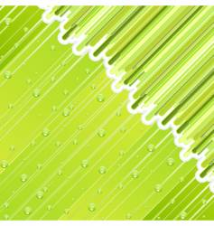 abstract rainy day vector image vector image