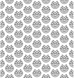 Wheat ears seamless pattern vector image vector image