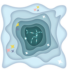 Constellation andromeda vector