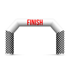 Creative of finish line vector