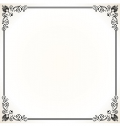 Elegant vector frame vector