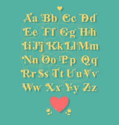 Encrypted romantic message thanks for being you vector
