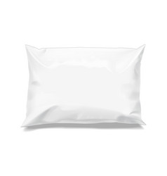 food snack pillow realistic package vector image