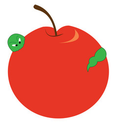 Red apple or color vector
