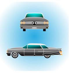 retro car vintage convertible realistic style vector image