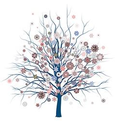 Cute Romantic Tree vector image