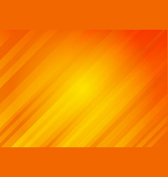 Abstract yellow and orange color background vector