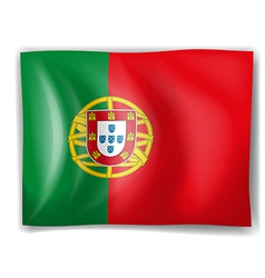 Flag of Portugal vector image