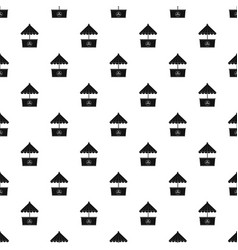 Ice creme pattern seamless vector