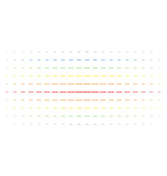 organic text spectral halftone array vector image